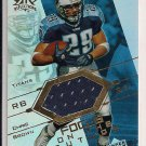 CHRIS BROWN TITANS 2004 UD REFLECTIONS FOTF JERSEY CARD