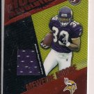 MEWELDE MOORE 2004 TOPPS PRISTINE ROOKIE JERSEY CARD