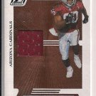 BRYANT JOHNSON CARDINALS 2005 DONRUSS ZENITH JERSEY CARD
