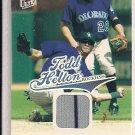 TODD HELTON ROCKIES 2004 FLEER ULTRA SEASON CROWNS JERSEY CARD