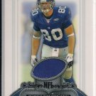 JEREMY SHOCKEY 2006 BOWMAN STERLING JERSEY CARD