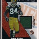 JAVON WALKER PACKERS 2004 TOPPS PRISTINE FANTASY FAVORITES JERSEY CARD