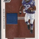 EDGERRIN JAMES COLTS 2005 DONRUSS ZENITH JERSEY CARD