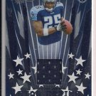 LENDALE WHITE 2006 PLAYOFF ABSOLUTE STAR GAZING ROOKIE JERSEY CARD #'D051/100!