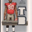 GAINES ADAMS BUCCANEEERS 2007 UD SP ROOKIE THREAD JERSEY CARD