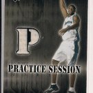 KWAME BROWN WIZARDS 2002-03 UPPER DECK PRACTICE SESSION JERSEY CARD