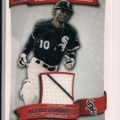 ALEXEI RAMIREZ WHITE SOX 2010 TOPPS PEAK PERFORMANCE MEMORABILIA  CARD