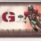 TRAVIS STEPHENS BUCCANEERS 2002 UD SWEET SPOT GALLERY JERSEY CARD