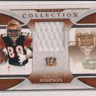 JEROME SIMPSON BENGALS 2008 ROOKIE COLLECTION JERSEY CARD