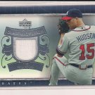 TIM HUDSON BRAVES 2007 UPPER DECK GAME MATERIALS JERSEY CARD