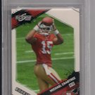 MICHAEL CRABTREE 49'ERS 2009 SCORE ROOKIE CARD GRADED BGS 9 (MINT)!