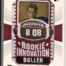 KYLE BOLLER RAVENS 2003 UPPER DECK PATCH COLLECTION ROOKIE INNOVATION CARD