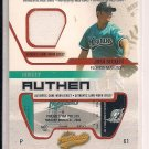 JOSH BECKETT MARLINS 2003 FLEER AUTHENTIX RIPPED JERSEY CARD