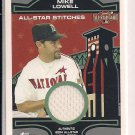 MIKE LOWELL MARLINS 2004 TOPPS ALL-STAR STITCHES JERSEY CARD