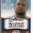 STEVAN RIDLEY PATRIOTS 2011 TOPPS RR ROOKIE CARD #'D 669/1339!