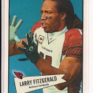 LARRY FITZGERALD CARDINALS 2010 TOPPS 1952 BOWMAN STYLE CARD