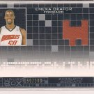 EMEKA OKAFOR BOBCATS 2007-08 TOPPS LUXURY BOX JERSEY CARD #'D 159/199!
