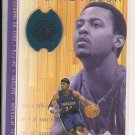 MORRIS PETERSON RAPTORS 2007 UPPER DECK GAME FLOOR CARD