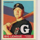 JASON BAY PIRATES 2007 UPPER DECK GOUDEY JERSEY CARD