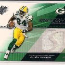 JAVON WALKER PACKERS 2004 SPX SWATCH SUPREMACY JERSEY CARD