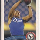 BRANDON HARRIS TEXANS 2011 TOPPS ROOKIE CARD
