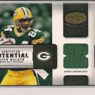 JAVON WALKER PACKERS 2004 LEAF CERTIFIED POTENTIAL JERSEY CARD #'D 125/150!