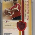 WARREN MOON 2002 SCORE QBC MATERIALS EVENT USED FOOTBALL CARD