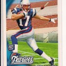 TAYLOR PRICE PATRIOTS 2010 TOPPS ROOKIE CARD