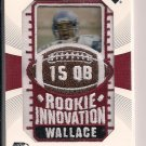 SENECA WALLACE 2003 UPPER DECK PATCH COLLECTION CARD