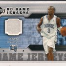 STEVE FRANCIS MAGIC 2005-06 UPPER GAME JERSEY