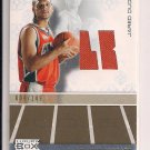 JARED DUDLEY BOBCATS 2007-08 TOPPS LUXURY BOX ROOKIE JERSEY CARD #'D 4/149!