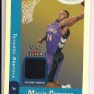 MORRIS PETERSON RAPTORS 2000-01 FLEER HOT PROSPECTS ROOKIE JERSEY CARD