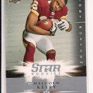 MALCOLM KELLY REDSKINS 2008 UD FIRST EDITIONS ROOKIE CARD