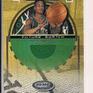 JOSEPH FORTE CELTICS 2001 FLEER HOT PROPERTIES FUTURE SWATCH JERSEY