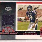 MARK CLAYTON RAVENS 2005 TOPPS TOTAL TARGET EXCLUSIVE ROOKIE JERSEY CARD