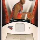 SEAN MAY BOBCATS 2006-07 SP GAME USED MEMORABILIA CARD #78/100!
