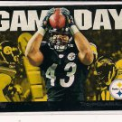 TROY POLAMULU STEELERS 2011 TOPPS GAMEDAY INSERT