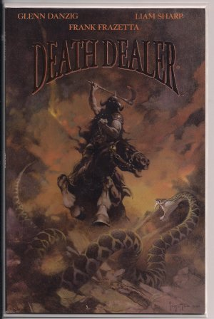 DEATH DEALER #2 (1996) DANZIG & FRAZETTA