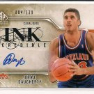 BRAD DAUGHERTY CAVS 2009-10 SP INKCREDIBLE AUTO CARD #'D 084/139!