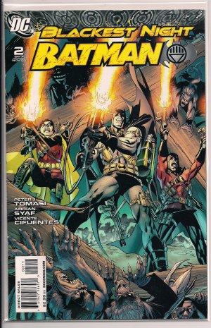 BATMAN BLACKEST NIGHT #2 (2009) 1ST PRINT!!