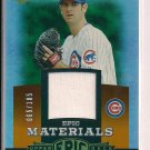MARK PRIOR CUBS 2006 UPPER DECK EPIC MATERIALS JERSEY #'D 065/185!