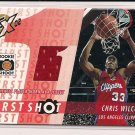 CHRIS WILCOX CLIPPER 2002-03 TOPPS XPECTATIONS JERSEY