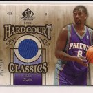 JALEN ROSE SUNS 2007-08 SP GAME USED HARDCOURT CLASSICS JERSEY CARD