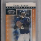TONY BANKS RAVENS 2000 DONRUSS PREFERRED QBC GRADED BECKETT 8.5
