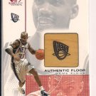 STEPHON MARBURY NETS 2001 SP GAME FLOOR AUTHENTIC FLOOR CARD
