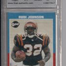 RUDI JOHNSON BENGALS 2001 UPPER DECK VINTAGE ROOKIE GRADED
