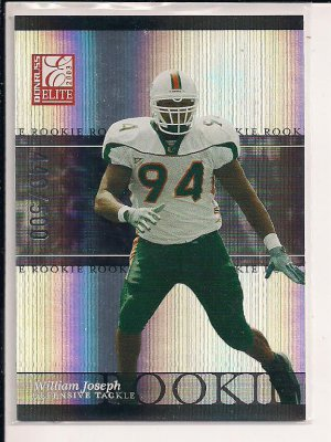 WILLIAMS JOSEPH GIANTS 2003 DONRUSS ELITE ROOKIE CARD #'D 440/500!