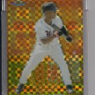 MELVIN MORA ORIOLES 2004 TOPPS FINEST UNCIRCULATED GOLD REFRACTOR #'D 061/139!