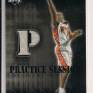 ANTAWN JAMISON WARRIORS 2002 UPPER DECK PRACTICE SESSION JERSEY