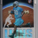 CHARLES ROGERS LIONS 2003 TOPPS PRISTINE UNCIRCULATED REFRACTOR